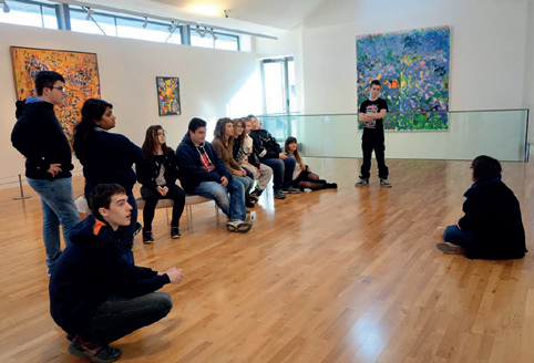 classe visite tableaux