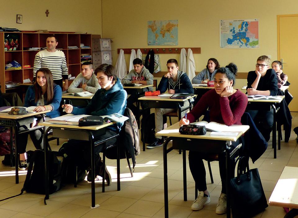 eleves en classe