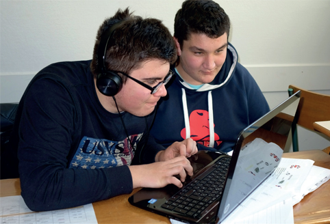 duo eleves informatique